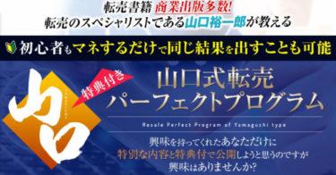【たった1人で1億円!】せどり・転売教材の決定版!山口式転売パーフェクトプログラム