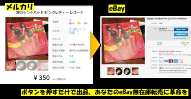 【eBay無在庫転売屋必見】ボタンを押すだけ爆速で出品、在庫管理 ebay無在庫販売ツールげきらくくん