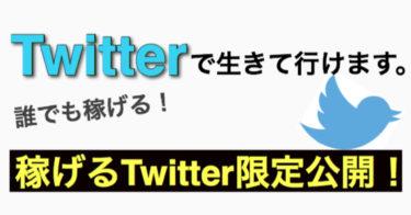 Twitter攻略法大公開!これだけで余裕で生きていけます。