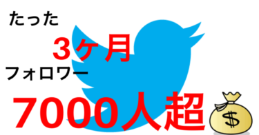 たった3か月でTwitterで7000人以上のアクティブユーザーを集めて収益化した方法。