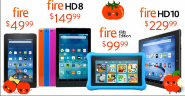 Amazon FireHDとKindleの商品解説