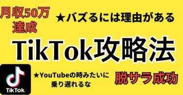 TikTok攻略法!!YouTubeの時みたいに乗り遅れるな